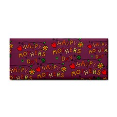 Happy Mothers Day Text Tiling Pattern Cosmetic Storage Cases