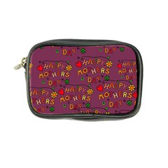 Happy Mothers Day Text Tiling Pattern Coin Purse