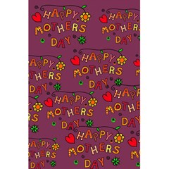 Happy Mothers Day Text Tiling Pattern 5 5  X 8 5  Notebooks