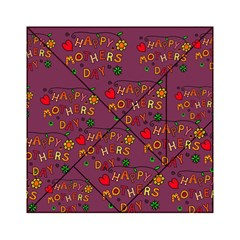 Happy Mothers Day Text Tiling Pattern Acrylic Tangram Puzzle (6  X 6 )