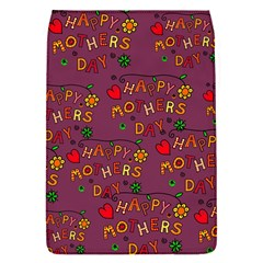 Happy Mothers Day Text Tiling Pattern Flap Covers (S)
