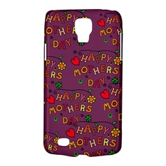 Happy Mothers Day Text Tiling Pattern Galaxy S4 Active