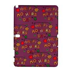 Happy Mothers Day Text Tiling Pattern Galaxy Note 1