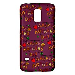 Happy Mothers Day Text Tiling Pattern Galaxy S5 Mini