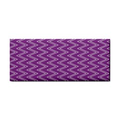 Purple Zig Zag Pattern Background Wallpaper Cosmetic Storage Cases