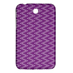 Purple Zig Zag Pattern Background Wallpaper Samsung Galaxy Tab 3 (7 ) P3200 Hardshell Case