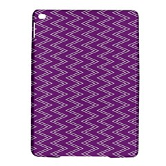 Purple Zig Zag Pattern Background Wallpaper Ipad Air 2 Hardshell Cases