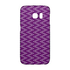 Purple Zig Zag Pattern Background Wallpaper Galaxy S6 Edge