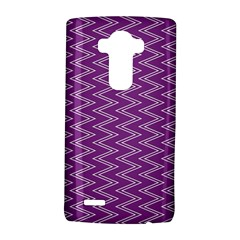 Purple Zig Zag Pattern Background Wallpaper LG G4 Hardshell Case