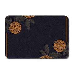 Floral Roses Seamless Pattern Vector Background Plate Mats