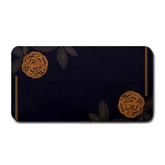 Floral Roses Seamless Pattern Vector Background Medium Bar Mats