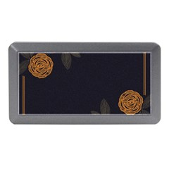Floral Roses Seamless Pattern Vector Background Memory Card Reader (Mini)