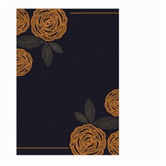 Floral Roses Seamless Pattern Vector Background Large Garden Flag (two Sides)