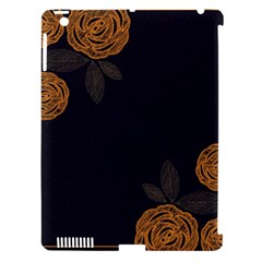 Floral Roses Seamless Pattern Vector Background Apple iPad 3/4 Hardshell Case (Compatible with Smart Cover)