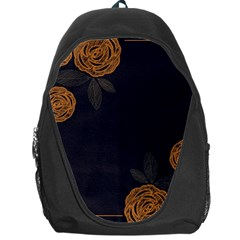 Floral Roses Seamless Pattern Vector Background Backpack Bag