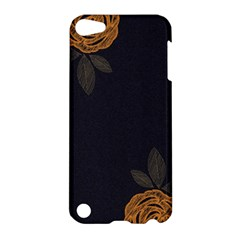 Floral Roses Seamless Pattern Vector Background Apple iPod Touch 5 Hardshell Case