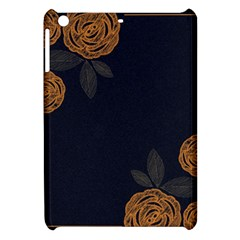 Floral Roses Seamless Pattern Vector Background Apple Ipad Mini Hardshell Case