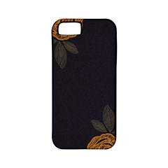 Floral Roses Seamless Pattern Vector Background Apple iPhone 5 Classic Hardshell Case (PC+Silicone)