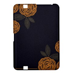 Floral Roses Seamless Pattern Vector Background Kindle Fire Hd 8 9