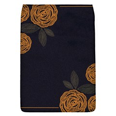 Floral Roses Seamless Pattern Vector Background Flap Covers (l)