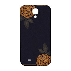 Floral Roses Seamless Pattern Vector Background Samsung Galaxy S4 I9500/I9505  Hardshell Back Case