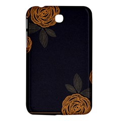 Floral Roses Seamless Pattern Vector Background Samsung Galaxy Tab 3 (7 ) P3200 Hardshell Case