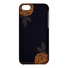 Floral Roses Seamless Pattern Vector Background Apple Iphone 5c Hardshell Case