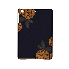 Floral Roses Seamless Pattern Vector Background iPad Mini 2 Hardshell Cases