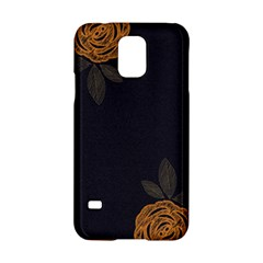 Floral Roses Seamless Pattern Vector Background Samsung Galaxy S5 Hardshell Case