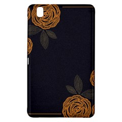 Floral Roses Seamless Pattern Vector Background Samsung Galaxy Tab Pro 8.4 Hardshell Case