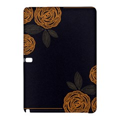 Floral Roses Seamless Pattern Vector Background Samsung Galaxy Tab Pro 12 2 Hardshell Case