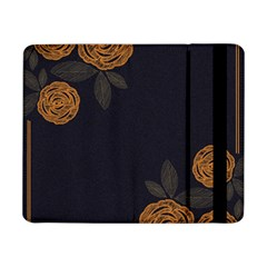 Floral Roses Seamless Pattern Vector Background Samsung Galaxy Tab Pro 8 4  Flip Case