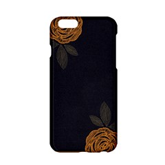 Floral Roses Seamless Pattern Vector Background Apple iPhone 6/6S Hardshell Case