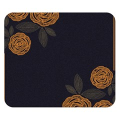 Floral Roses Seamless Pattern Vector Background Double Sided Flano Blanket (small)