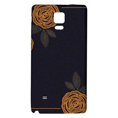 Floral Roses Seamless Pattern Vector Background Galaxy Note 4 Back Case