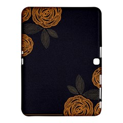 Floral Roses Seamless Pattern Vector Background Samsung Galaxy Tab 4 (10 1 ) Hardshell Case