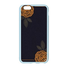 Floral Roses Seamless Pattern Vector Background Apple Seamless iPhone 6/6S Case (Color)