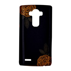 Floral Roses Seamless Pattern Vector Background LG G4 Hardshell Case