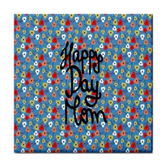 Happy Mothers Day Celebration Tile Coasters