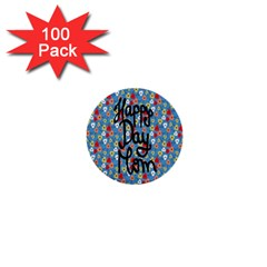 Happy Mothers Day Celebration 1  Mini Buttons (100 pack)