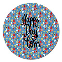 Happy Mothers Day Celebration Magnet 5  (Round)