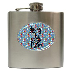 Happy Mothers Day Celebration Hip Flask (6 oz)