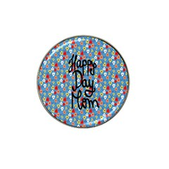 Happy Mothers Day Celebration Hat Clip Ball Marker (4 Pack)