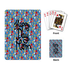 Happy Mothers Day Celebration Playing Card