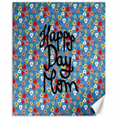Happy Mothers Day Celebration Canvas 16  x 20