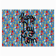Happy Mothers Day Celebration Large Glasses Cloth