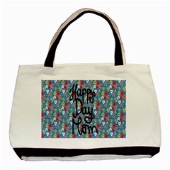 Happy Mothers Day Celebration Basic Tote Bag (two Sides)