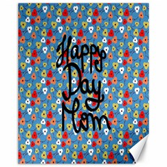 Happy Mothers Day Celebration Canvas 11  x 14