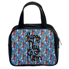 Happy Mothers Day Celebration Classic Handbags (2 Sides)
