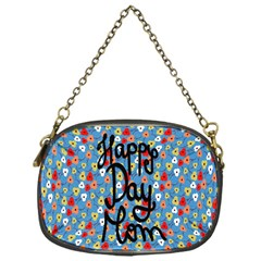 Happy Mothers Day Celebration Chain Purses (one Side)